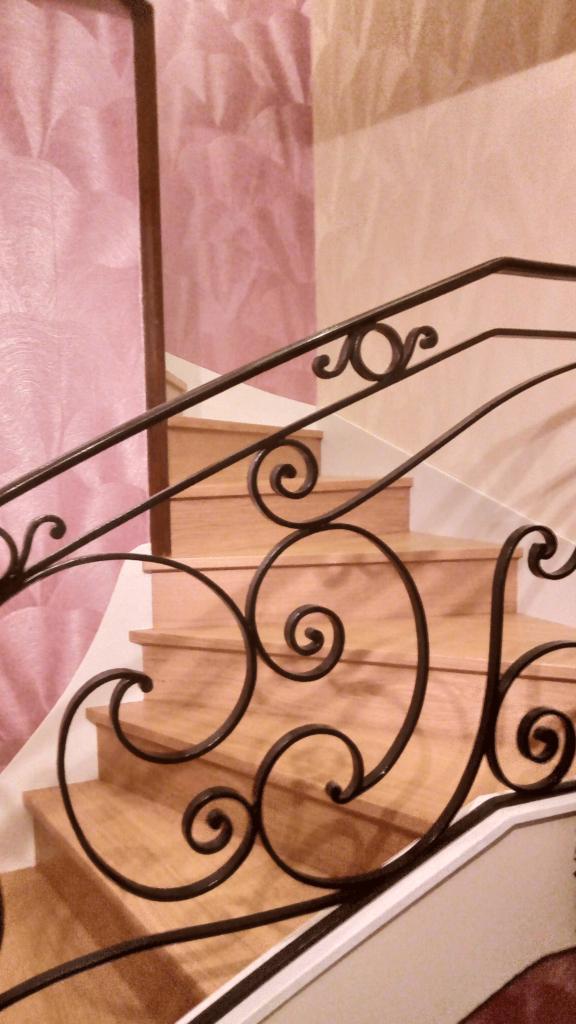 Habillage d'escalier en chêne - Malaunay