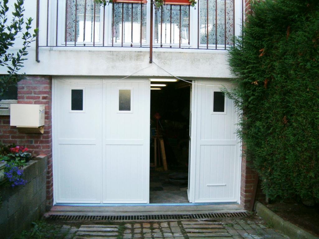 Porte de garage PVC - Bihorel