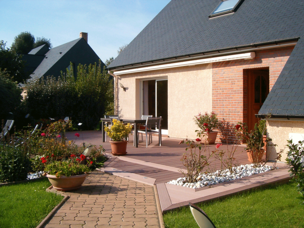 Terrasse composite - Montigny