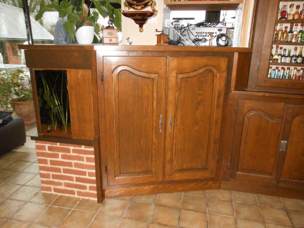 Façade de placard chêne - Fresquiennes