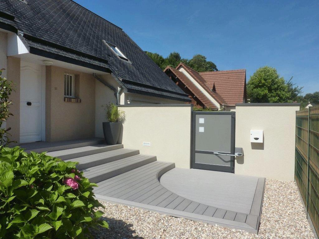 Terrasse composite - Saint Aubin Epinay