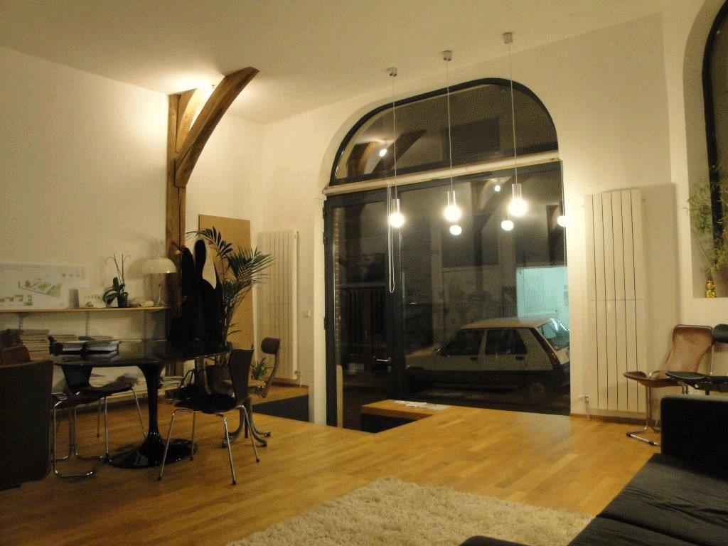 Rénovation complète (isolation, plâtre et parquet chêne) - Rouen